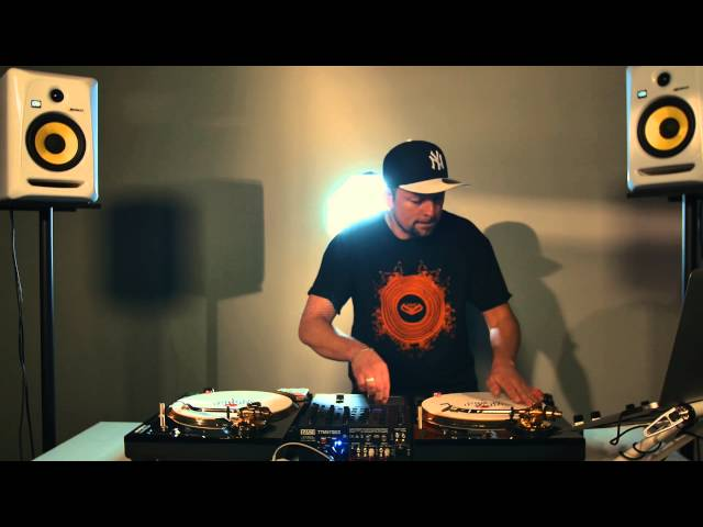 DJ Ray-D exclusive Ortofon routine