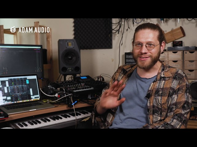 ADAM Audio - In The Studio With Blindsmyth