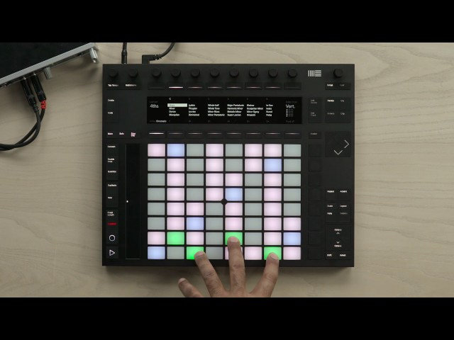 Ableton Push 2 – Chromatic Note Mode