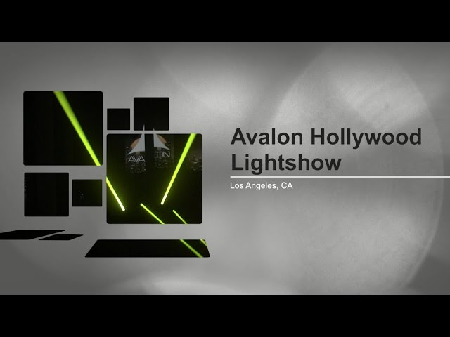 Avalon Hollywood Adds ADJ's Vizi Beam RXONE to Lightshow