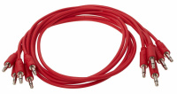 Erica Synths Eurorack Patch Cables 60cm, 5 Pcs Red по цене 1 120 ₽