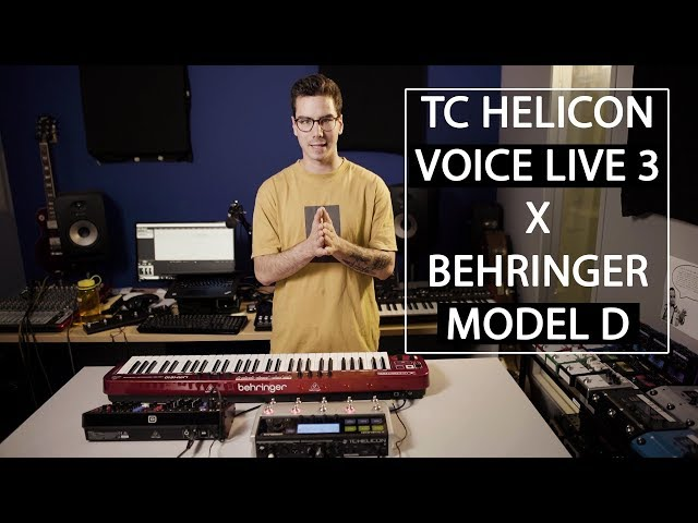TC Helicon X Behringer: Model D with VL3