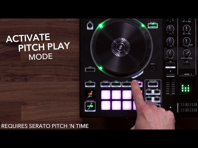Roland DJ-505: Pitch Play