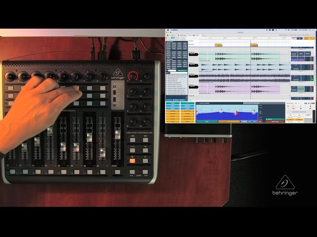 X-TOUCH COMPACT How To - Functionality with Tracktion