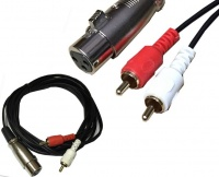 MrCable airxmf-15x2-L XLRm-2RCA по цене 2 650 руб.