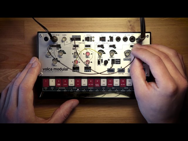 volca modular Patch of the Week 3: Simple Percussive Patterns