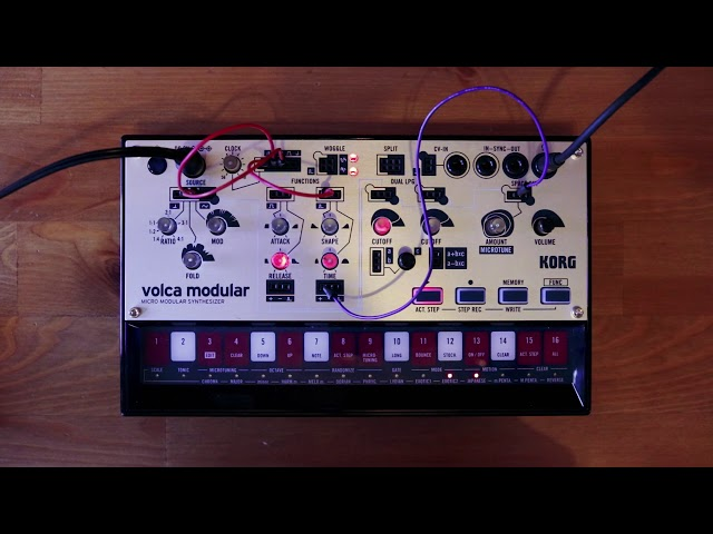 volca modular Patch of the Week 10: Polyrythmic Percussion