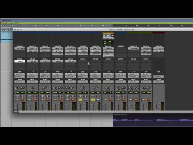 Focusrite // Pro Tools First - Plug-ins