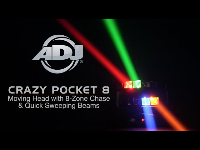 ADJ Crazy Pocket 8