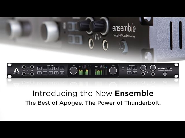 Apogee Ensemble - 30x34 Thunderbolt Audio Interface