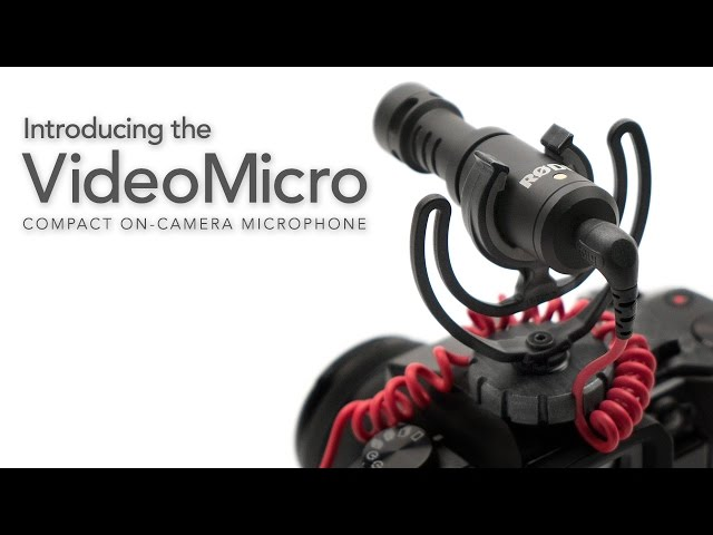 RØDE VideoMicro Features & Specifications