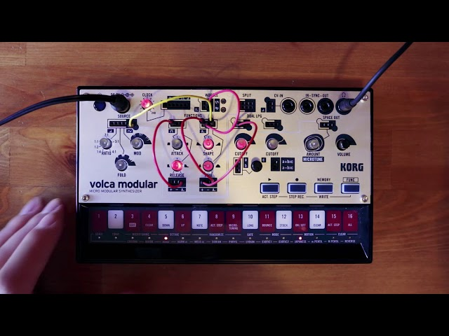 volca modular Patch of the Week 12: Audio Rate Function