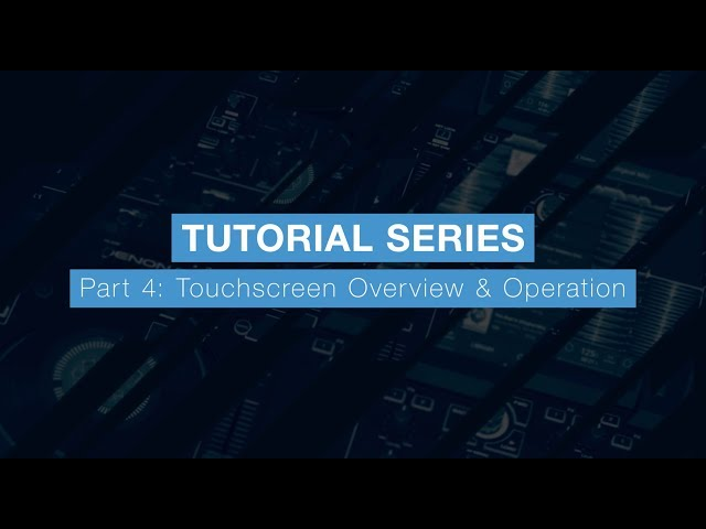 Denon DJ Prime 4 Tutorial Part Four – Touchscreen Operation & Overview