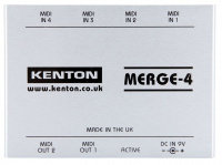 Kenton Merge 4 – 4 MIDI IN to 2 OUT по цене 8 310 руб.