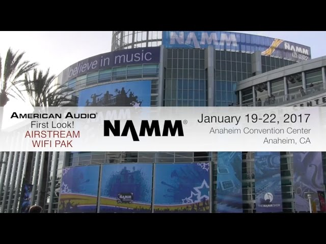 "ADJ Airstream WIFI Pack ""First Look"" NAMM 2017"