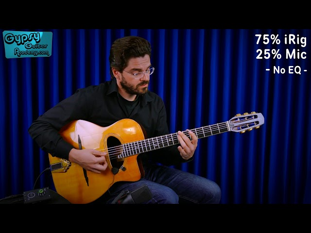 Joscho Stephan on iRig Acoustic Stage – 'Out of Nowhere'