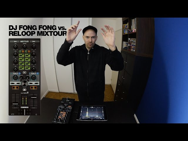DJ FONG FONG vs. Reloop MIXTOUR: Behind the scratch scene