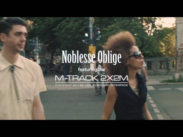 Introducing the M-Track 2X2M feat. Noblesse Oblige