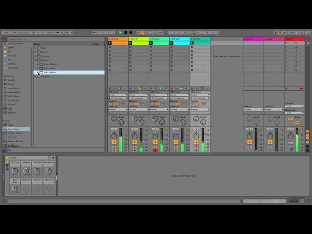 Learn Live 10: Saving presets