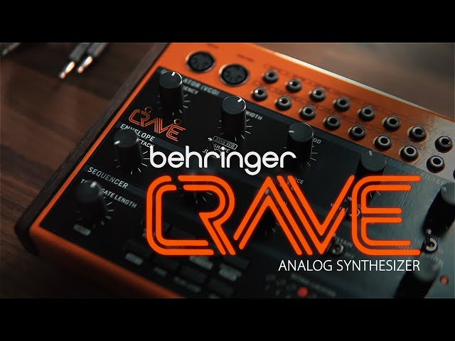 Brand New: Behringer Crave Synthesizer