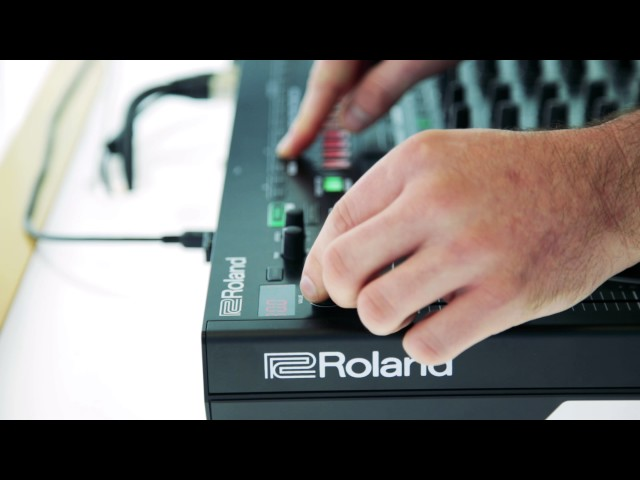 Roland DJ-808 TR-S & VT Walkthrough