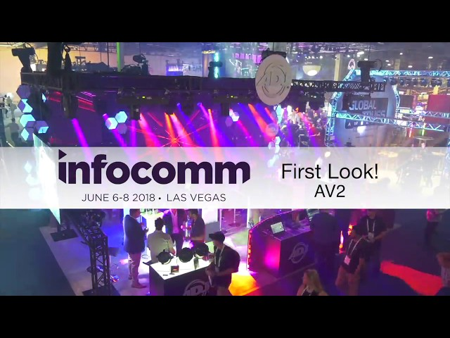 "ADJ ""First Look"" - AV2 Video Panels at InfoComm 2018"