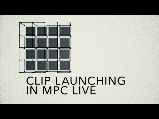 MPC Lounge: Clip Launch