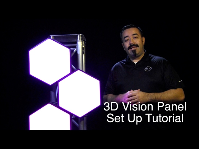ADJ 3D Vision Set Up Tutorial