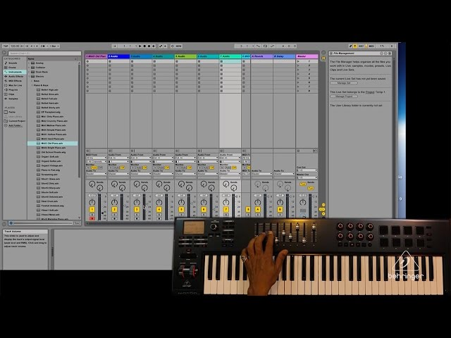 Getting Started with MOTÖR Keyboards - Ableton Live