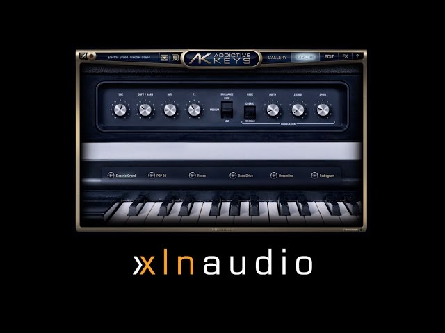 Focusrite // XLN Addictive Keys - Getting Started