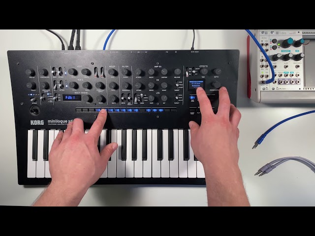Patch of the Week 29: minilogue xd + external Eurorack Sample+Hold