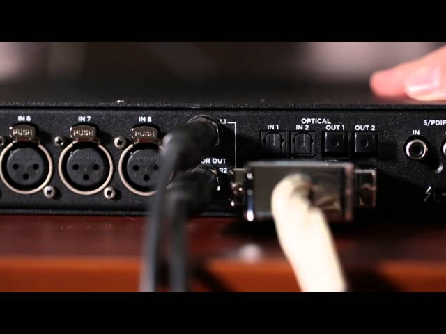 How to mix with outboard analog gear using Apogee Ensemble