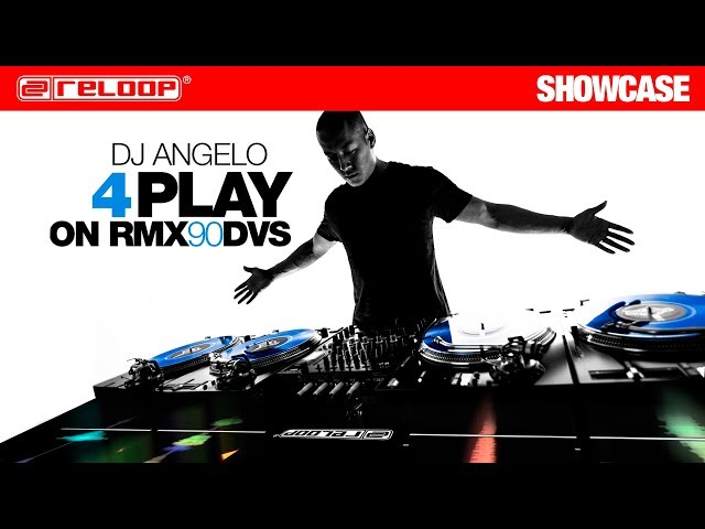 Reloop RMX-90 DVS - Performance w/ DJ Angelo #4PLAY