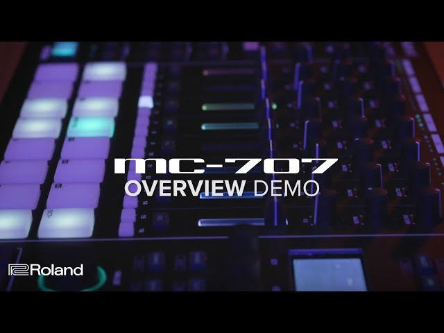 Roland MC-707 GROOVEBOX: Overview