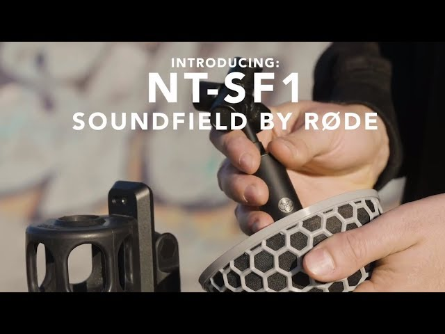SoundField by RØDE NT-SF1 - Now Shipping