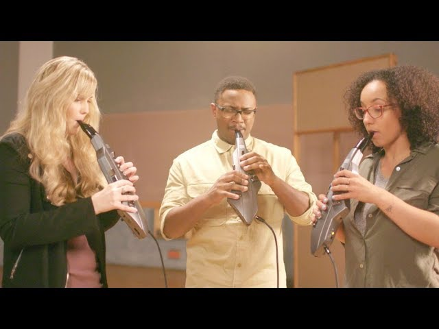 Aerophone GO sound preview : Trio performance