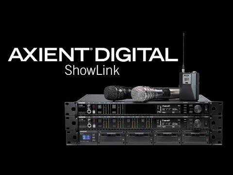 Shure Axient Digital Training – ShowLink