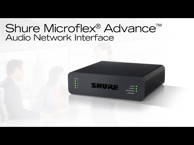 Shure Audio Network Interfaces