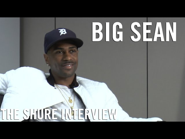 Big Sean - The Shure Interview