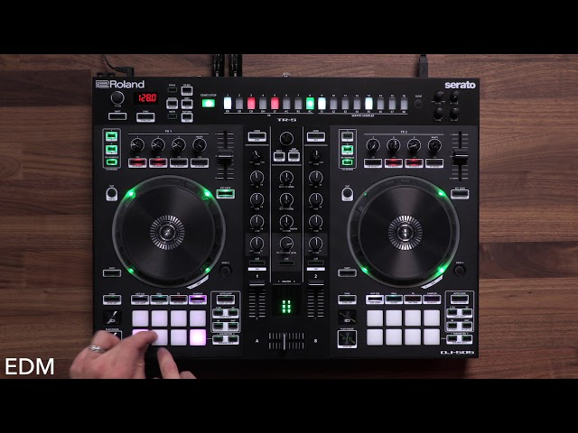 Roland DJ-505: Sampler Demo