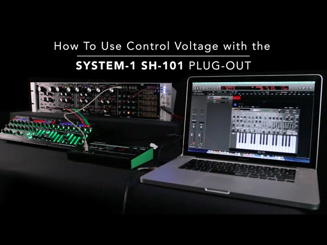 Control Voltage with the SH-101 PLUG-OUT for AIRA SYSTEM-1m