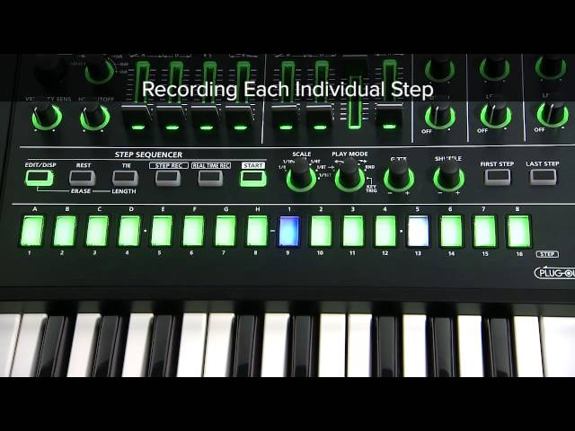 "SYSTEM-8 Quick Start 08 ""To Use Step Sequencer"""
