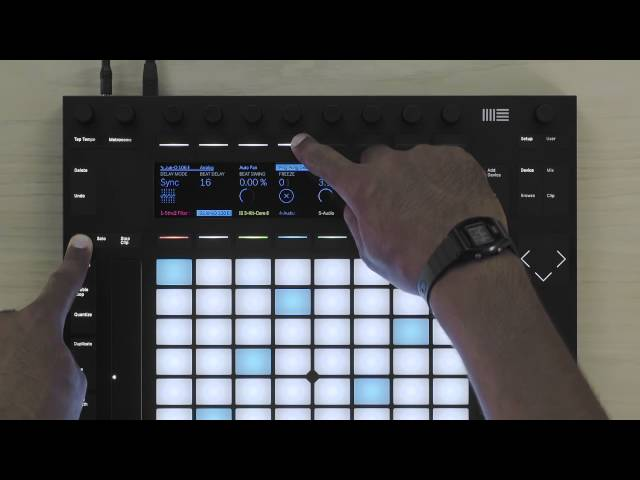 Ableton Push 2 Tutorial – Tweaking and Refining Melody