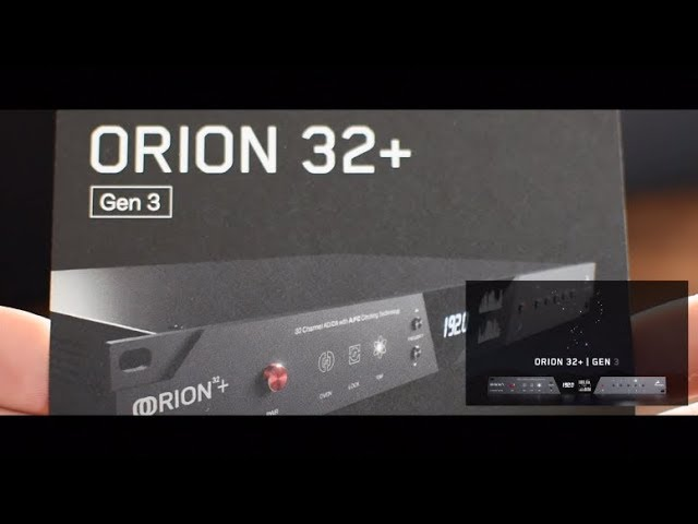 Orion32+ | Gen 3 Unboxing English