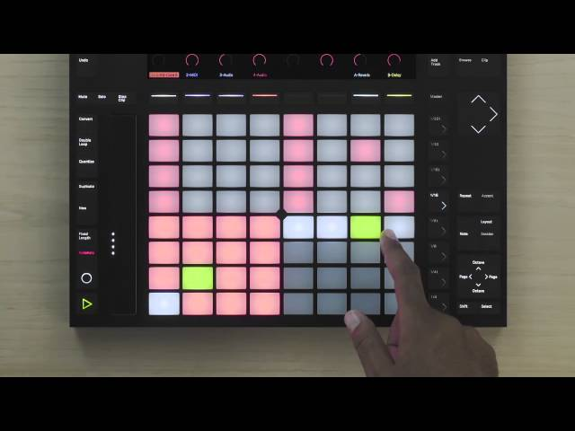 Ableton Push 2 Tutorial – Creating drum variations