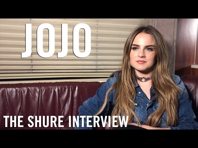 JoJo - The Shure Interview