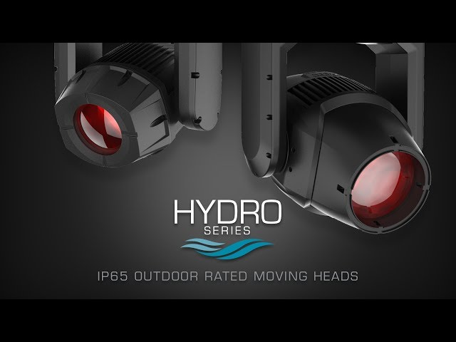 ADJ Hydro Series IP65 Moving Heads at LDI 2018