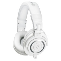 AUDIO-TECHNICA ATH-M50XWH WHITE по цене 11 160 руб.