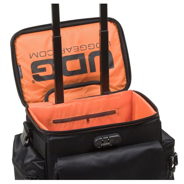 f1e3988bdc0a UDG Ultimate SlingBag Trolley Set DeLuxe Black, Orange Inside MK2 по цене  26 200 руб