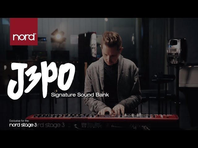 Introducing the J3PO Sound Bank for Nord Stage 3